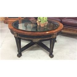 Century Carved Leg Coffee Table