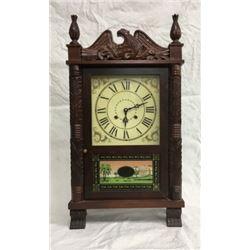 Pillar & Scroll Time & Strike Bracket Clock