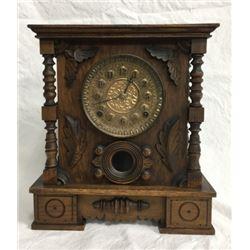 Excelsior Carved 8 Day Shelf Clock