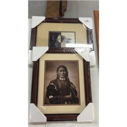 Pair Native American Pictures