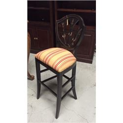 Ardley Hall Hand Painted Bar Stool