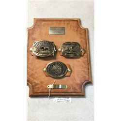 Montana Buckle Collection By Bob Scriver 1979