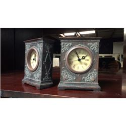 Clock Bookends