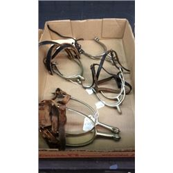 4 Pair Military Spurs