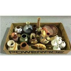 Collection of Small Pottery
