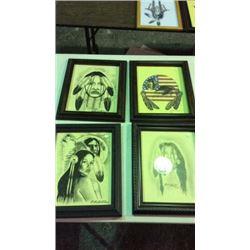 4 Original Artwork