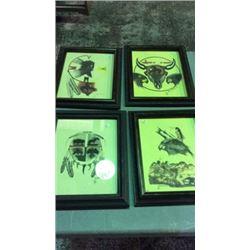4 Original Artwork by Lion Shows