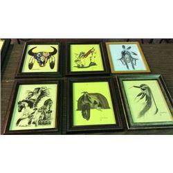 6 Original Artwork