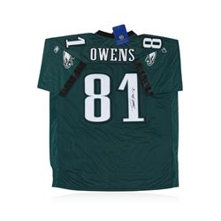 Philadelphia Eagles Terrell Owens Autographed Jersey