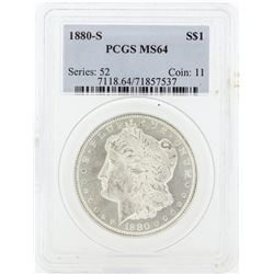 1880 MS64 NGC Morgan Silver Dollar