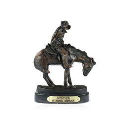 Norther Bronze Replica By Frederic Remington