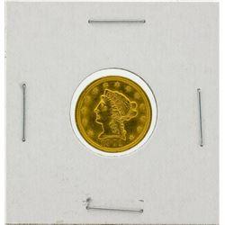 1901 $2.5 BU Liberty Head Quarter Eagle Gold Coin