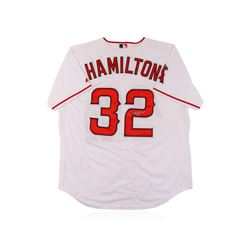 Los Angeles Angels of Anaheim Josh Hamilton Autographed Jersey