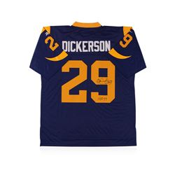 Los Angeles Rams Hall of Famer Eric Dickerson Autographed Jersey