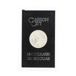 1884 Carson City Uncirculated Silver Dollar