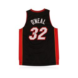 Miami Heat Shaquille O'Neal Autographed Jersey
