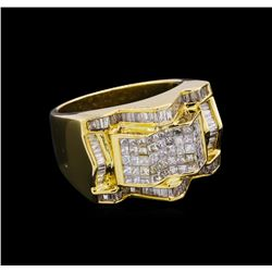 14KT Yellow Gold 2.71 ctw Diamond Ring
