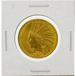 1910-D $10 BU Indian Head Eagle Gold Coin