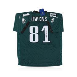 Philadelphia Eagles Terrell Owens Autographed Jersey