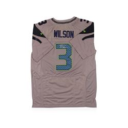 Seattle Seahawks Russell Wilson Autographed Jersey