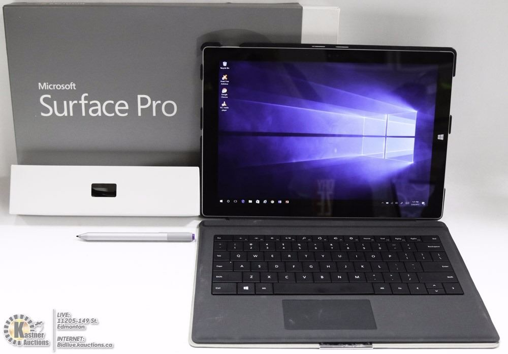 MICROSOFT SURFACE PRO 3 TABLET CORE i5/8GB/256 GB