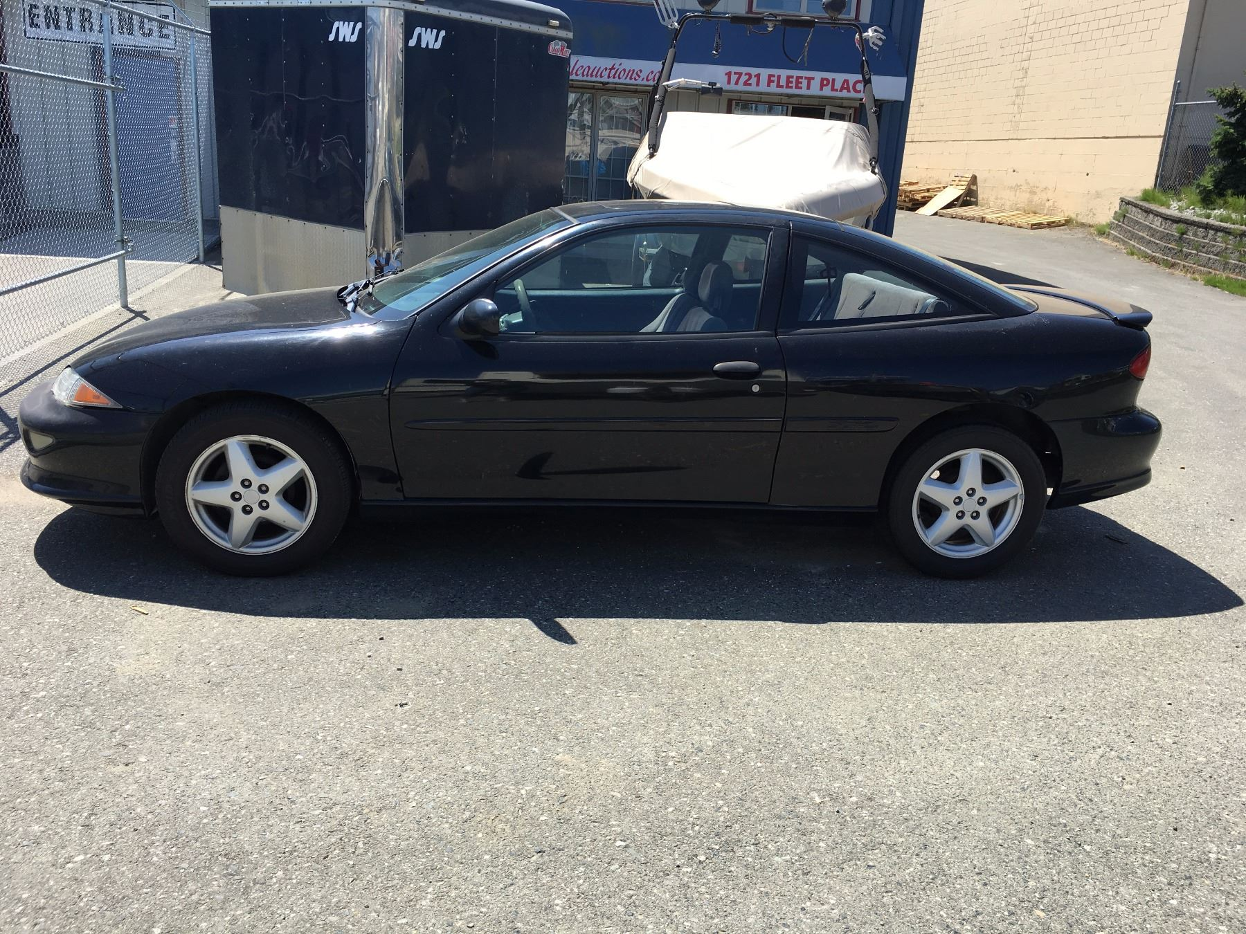 1998 Chevrolet Cavalier Z24 Black Vin 1g1jf12t2w7291142 Odo 226965 Kms Gas 5 Speed Pw Pl