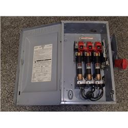 Siemens Heavy Duty Safety Switch Cat No HF362 60a 600Vac 600Vdc