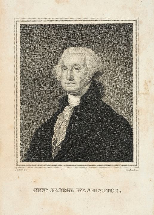 picture relating to Printable Pictures of George Washington identify c 1830 George Washington Print via Gimbrede, At the time the Portray by means of Gilbert Stuart