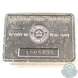 Royal Canadian Mint 10oz .999+ Fine Silver Bar (Many nicks & dings on bar) (TAX Exempt)