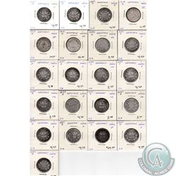 Estate Lot of 42x German Coinage Dated 1874-1914 in G to AU as per holders. 42pcs