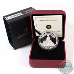 2010 Canada $10 75th Anniversary of the First Bank Notes Fine Silver Coin (Outer sleeve lightly worn