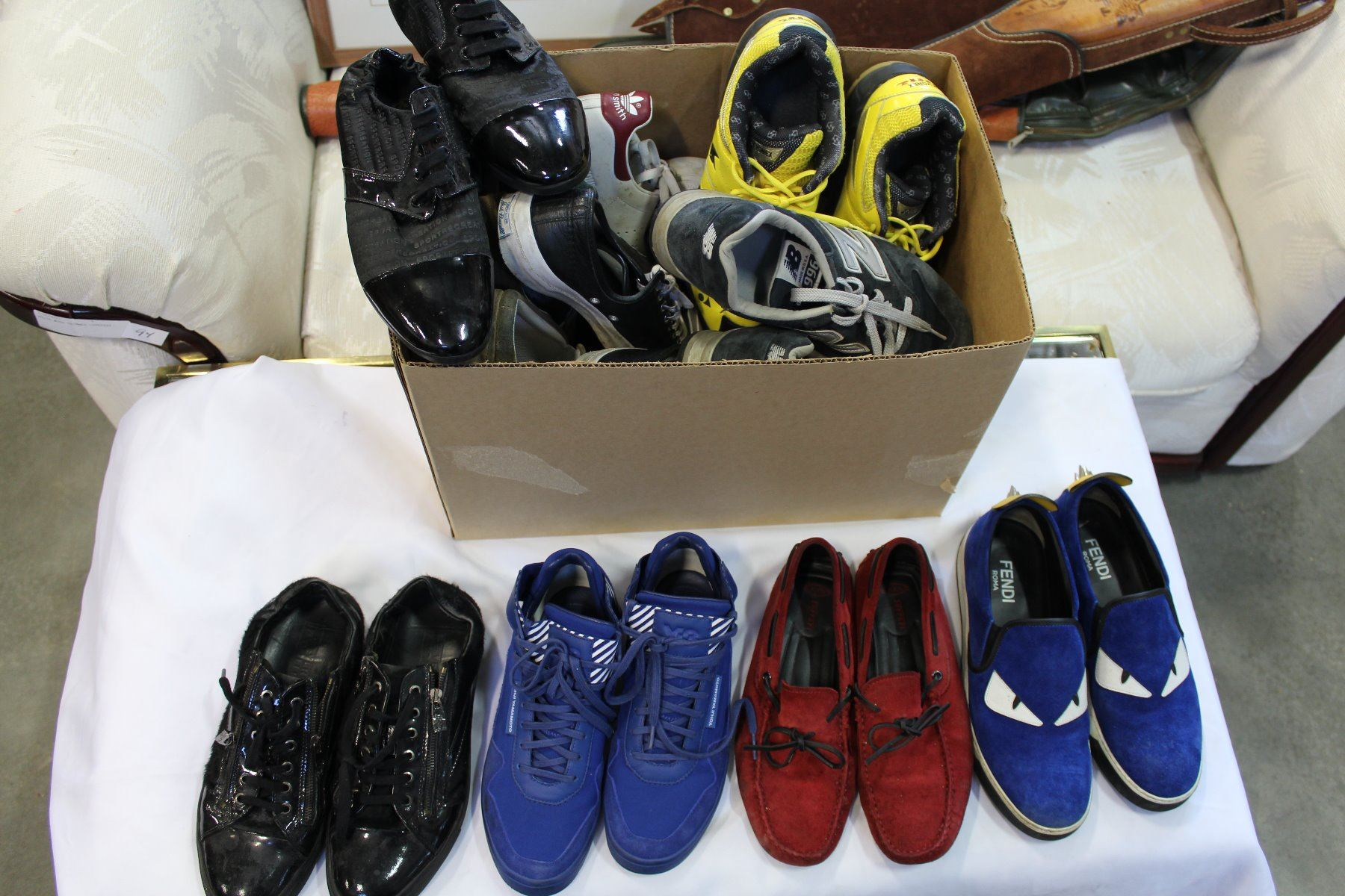 9eea0ba726 LOT OF NIKE AND DESIGNER SHOES