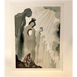 Dali - Purgatory Canto 13 - The Divine Comedy