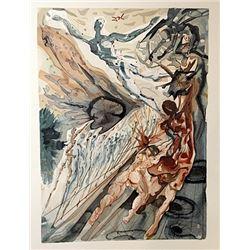 Dali - Purgatory Canto 26 - The Divine Comedy