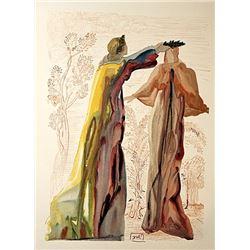 Dali - Purgatory Canto 27 - The Divine Comedy