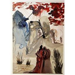 Dali - Purgatory Canto 28 - The Divine Comedy