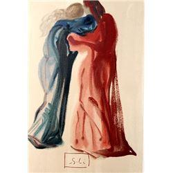 Dali - Purgatory Canto 29 - The Divine Comedy