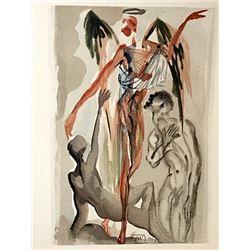 Dali - Purgatory Canto 32 - The Divine Comedy