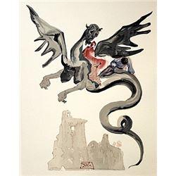 Dali - Hell Canto 17 - The Divine Comedy