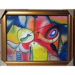 Arshile Gorky Oil on Canvas