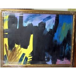 Oil on Canvas Willem De Kooning