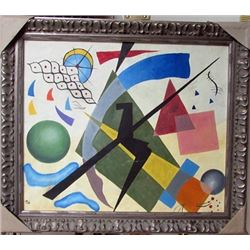 Wassily Kandinsky Oil on Canvas