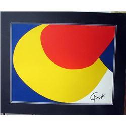 Oil on Paper Calder