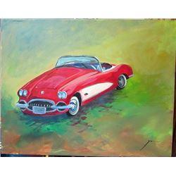 Original Michael Schofield On Canvas