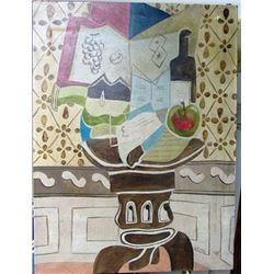 Oil on Canvas Georges Braque