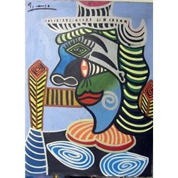 Oil on Canvas Pablo Picasso