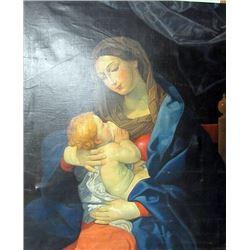 Oil on Canvas Quispe Tito
