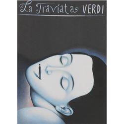 Rafal Olbinski - La Traviata, Verdi
