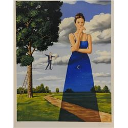 Rafal Olbinski - Midsummer Marriage