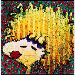 Bird Lips in a Bomb Shell Wig by Tom Everhart